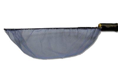 手作り 根鞭柄(ねぶちえ)選別網 扇型(大) めだか 金魚用 [N-5]