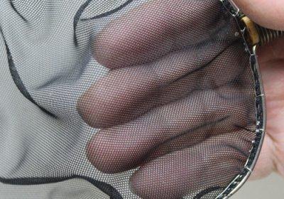 根鞭柄(ねぶちえ)選別網 扇型 黒色 (中) [N-8]